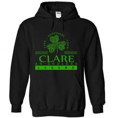 CLARE-the-awesome - #crop tee #tshirt print. BUY NOW => https://www.sunfrog.com/LifeStyle/CLARE-the-awesome-Black-82190199-Hoodie.html?68278