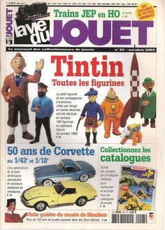 La vie du jouet N°93 année 2003 - Tintin toutes les figurines