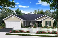 Plan 21-371 - Houseplans.com