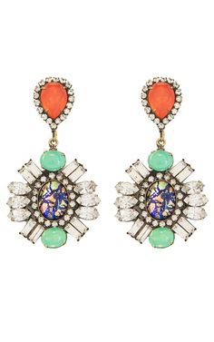 Earrings that make the outfit!
