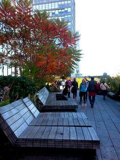 El High Lane de Nueva York, construido sobre unas antiguas vías de ferrocarril, es perfecto para disfrutar de lo mejor de Manhattan mientras te relajas y conectas con la naturaleza.