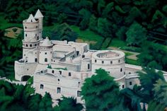 Tarodi Var castle built in Hungary by one family in the 1950's