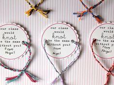 Kid-Made Friendship Bracelet Valentines. #crafts http://www.ivillage.com/our-favorite-kid-made-valentines/6-b-423316#423327