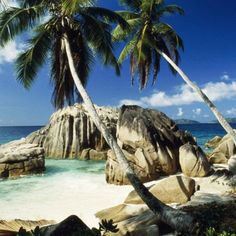 Seychelles, swam here with Wolfgang August 2013.  Breathtaking