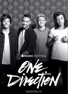 ∘☼∘ One Direction at Apple Music Festival september 2015 ∘☼∘ Niall Horan, Zayn Malik, Harry Edward Styles, Harry Styles, Boys Who, My Boys, Louis Williams, James Horan, I Love One Direction