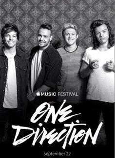 ∘☼∘ One Direction at Apple Music Festival september 22. 2015 ∘☼∘
