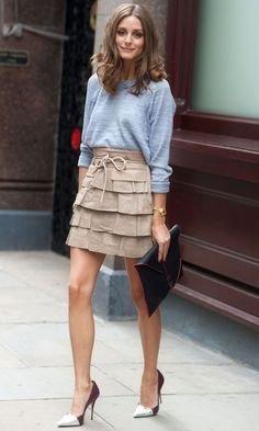 Olivia Palermo At London Fashion Week SS13, September 2012
