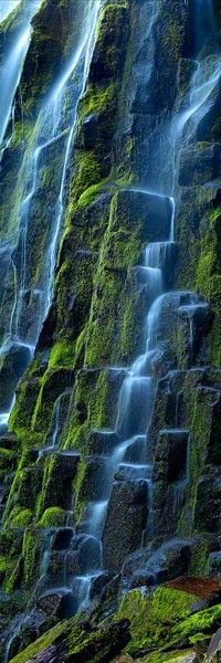 Cascade of waterfalls