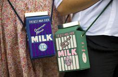 Olympia Le Tan Milk Bags