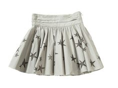 little swinging skirt - burda pattern
