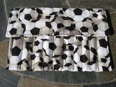 Soccer Print Crochet Hook Organizer/ Holder  by CountryCrafting, $10.00