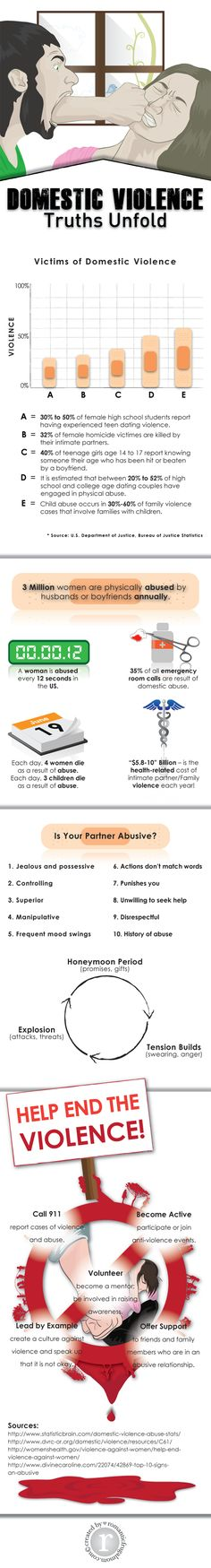 Domestic Violence: Truth Unfolds [INFOGRAPHIC]