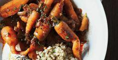 Carrots with Caraway Yogurt and Wheat Berries | KitchenDaily.ca