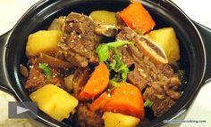 Recipe: Galbi Jjim / Kalbi Jjim (Korean braised short ribs) 갈비찜