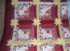 Log cabin star quilt pattern in Miscellaneous - Compare Prices