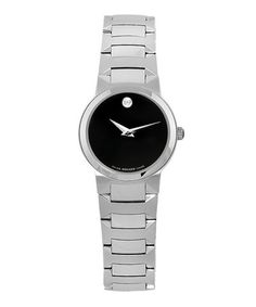 Take a look at this Black Temo Watch by Movado on #zulily today!