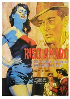 Riso Amaro by Giuseppe de Santis, old school and subtitled.. awesome.