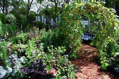 Paul Stone, The Key Potager (ornamental kitchen/vegetable garden)
