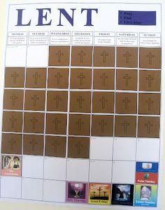 made for JOY: Lent calendar