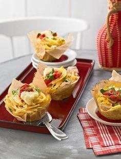 Spaghettinester in Muffinform (Rezept mit Bild) von italiamann   Chefkoch.de
