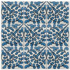 Virgo Star, Bar Tile, Mediterranean Tile, Painting Ceramic Tiles, Heath Ceramics, Artistic Tile, Traditional Fireplace, House Tiles, Hand Painted Ceramics