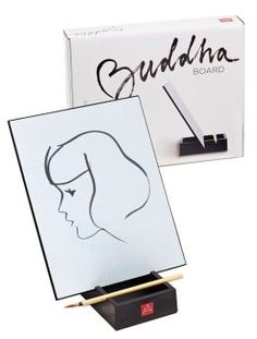 Know someone who could use a little de-stressing around the holidays? Based on the Zen concept of living in the moment, the Buddha Board brings out the artist in everyone.