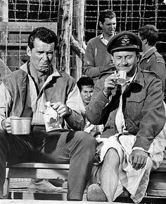 """James Garner and Donald Pleasence in  """"The Great Escape"""" by Beast 1, via Flickr"""