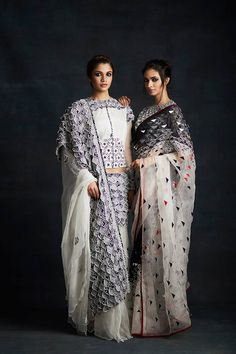 Discover the most exquisitely embroidered monochromatic outfits with Shasha Gaba. Shop Now! #shashagaba #indiandesigners #monochrome #indiancontemporary #modernclothing #musthave #shopnow #perniaspopupshop #happyshopping