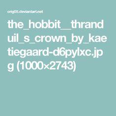 the_hobbit__thranduil_s_crown_by_kaetiegaard-d6pylxc.jpg (1000×2743)