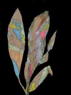 ARTES, DESARTES E DESASTRES CONTEMPORÂNEOS.: Maio de 2011 Folhas Pastel oleoso sobre papel