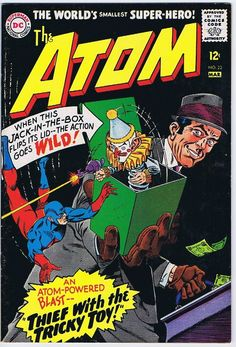 The Atom #23.  www.ephemeritor.com