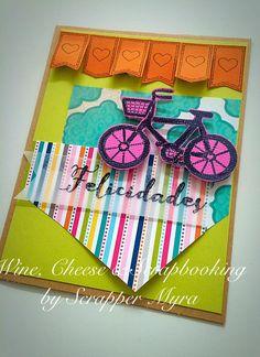 Wine, Cheese and Scrapbooking: Un Reto con Bicicletas!