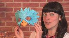 How To Make A Bird Mask (Creative Crafts)