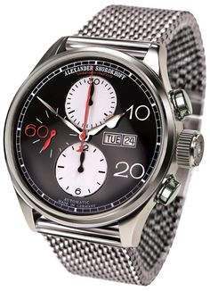Alexander Shorokhoff Automatik Chronograph CA01-4M Automatik Chronograph,  Stylish Watches, Luxury Watches For 81d89120b25b