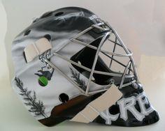 MTL316 Goalie Mask Collector  #bmx #mask #goalie #custom #hockey www.MTL316.com
