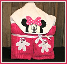 Custom hooded bath towels. $30.00