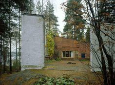 Muuratsalo Experimental House   Muuratsalo Island, Finland   Alvar Aalto   photo ©Maija Holma