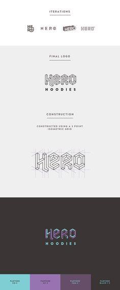 Hero Hoodies Branding on Behance