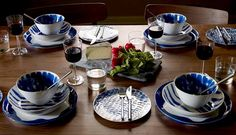 Make dinner a formal affair with this dinner set from Habitat