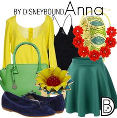 Disney Bound - Anna (Spring Look)