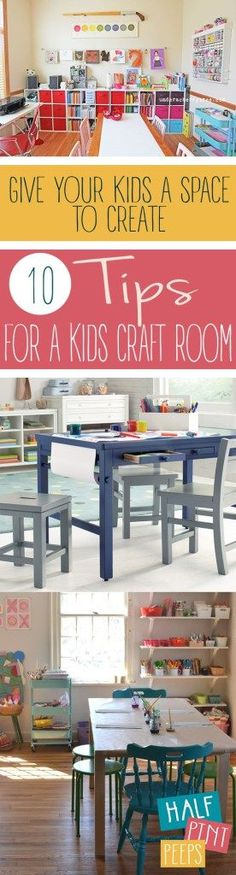 Getting kids involved in crafts and art is a great way to ignite their creative thinking!