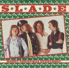 Slade - Merry Christmas Everybody. It's Christmas once you hear this. Merry Christmas Everybody, Christmas Tunes, Christmas Rock, Christmas Past, Retro Christmas, Christmas Is Coming, Merry Xmas, Winter Christmas, Historia