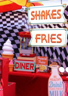 Retro Diner Party #retrodiner #party
