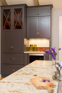 Cabinets By Cabico - in Graphite LOVE this color!