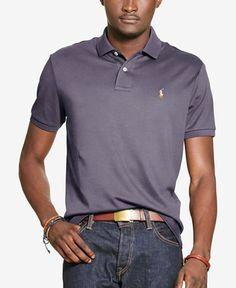 4459df2b7 Polo Ralph Lauren Men s Custom-Fit Pima Polo Slim Fit Polo Shirts