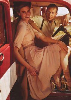 Kendra Spears by Will Davidson for Harper's Bazaar Australia September 2011