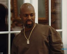 Grown ups: Corey Gamble watched Kourtney and Khloe throwing food at each other...