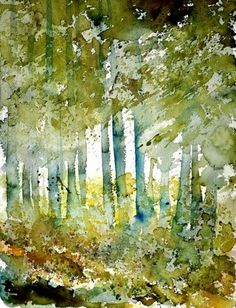 watercolor 112102, painting by artist ledent pol