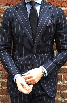 men suits casual -- Click Visit link above for more details Look Formal, Men Formal, Modern Gentleman, Gentleman Style, Mens Fashion Suits, Mens Suits, Men's Fashion, Pinstripe Suit, Carpe Diem