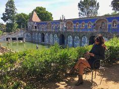Turismo em Portugal: Palácio dos Marqueses de Fronteira, Lisboa!